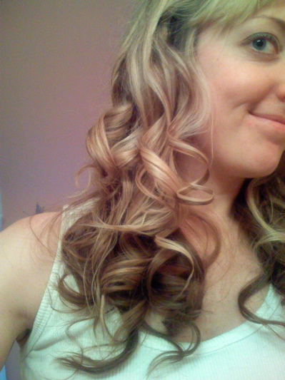 Mariah Carey burned by curling iron how to get long wavy curls hair In a