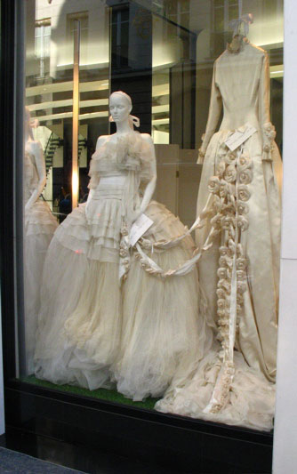 channel wedding dresses 1994 flowers